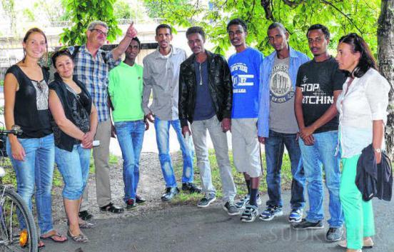 Stadtführung Flüchtlinge 2014
