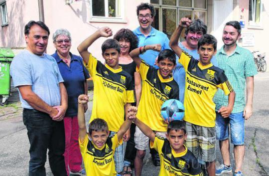 2014 Flüchtlinge Fußball Vereinsmitgliedschaft Türkischer Sportverein