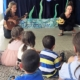 Die Piratonauten waren im Rahmen der Kinderbetreuung von Save me Konstanz im Juli 2016 zu Besuch in der Gemeinschaftsunterkunft Atrium und überraschten geflüchtete Kindern