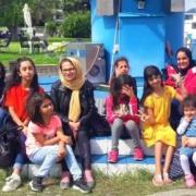 Geflüchtete in Überlingen im Rahmen des Save me Sommerprogramms 2019